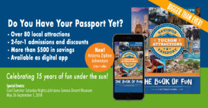 The Passport now includes Arizona Zipline Adventure!