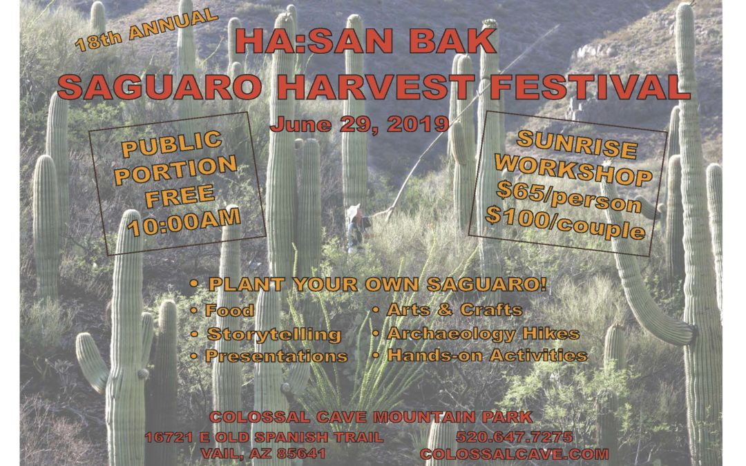 18th Annual Ha:san Bak Saguaro Harvest Festival